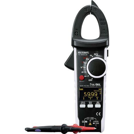 Pince ampèremétrique VOLTCRAFT VC-590 OLED numérique Etalonnage: d'usine (sans certificat) affichage OLED CAT III 600 V, CAT II 1000 V Affichage (n Q696891