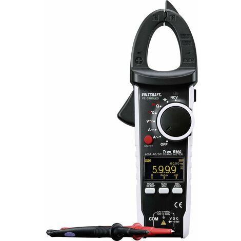 Pince ampèremétrique VOLTCRAFT VC-590 OLED numérique Etalonné selon: dusine (sans certificat) affichage OLED CAT III 600 V, CAT II 1000 V Affichag