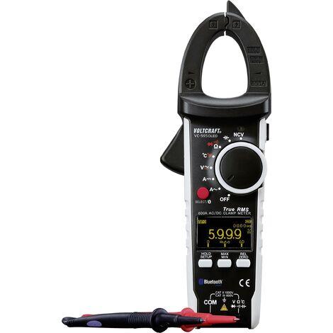 Pince ampèremétrique VOLTCRAFT VC-595 OLED numérique Etalonnage: d'usine (sans certificat) affichage OLED CAT III 600 V, CAT II 1000 V Affichage (n A279201