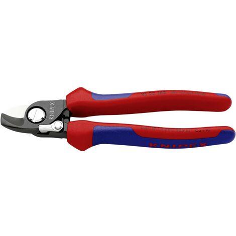 Pince coupe-câbles Knipex 95 22 165 Adapté pour (technique disolation) câbles en alu et en cuivre, à 1 ou plusieurs fils 15 mm 50 mm² 0 1 pc(s)