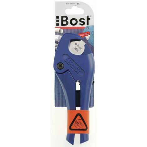 Pince coupe-tubes pour tube plastique Ø 0 à 26mm BOST - 138426