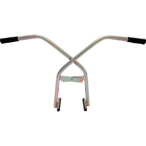 Pince-dalle Basic Line Zone d'atteinte 0-400 mm cap.charge 150 kg poids propre 4 kg, électrogalvanisé