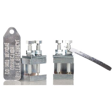 Pince de masse RS PRO, section de 3 → 35mm²