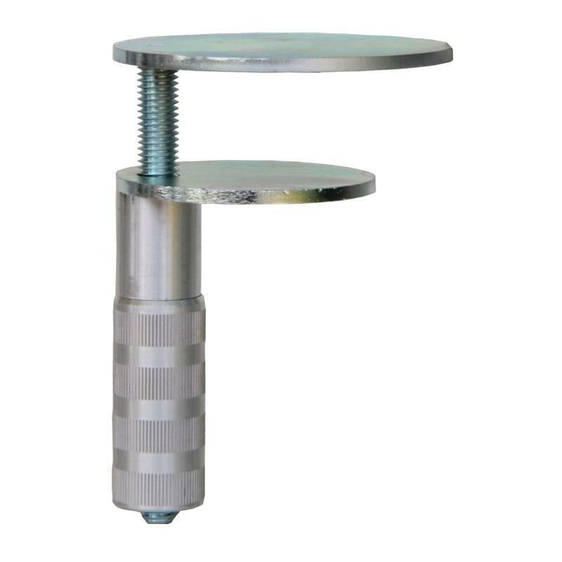 Bauer&böcker Gmbh&co.kg - BAUER & Böcker Pince de table D. 73 + 90 mm 2 plaques métalliques plateau de la table 90 mm