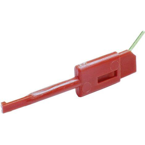 Pince grip-fil SKS Hirschmann KLEPS 064 PCH enfichable 0.64 mm CAT I rouge