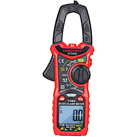 Pince Multimetre Numerique Ac / Dc, Ht206D, Habotest