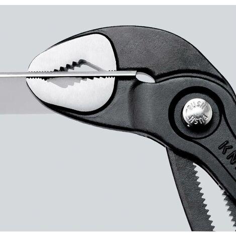 Pince multiprise Cobra polie avec oeillet et branches bicomposant 250mm KNIPEX 1 PCS
