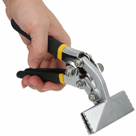 Pince pour plier la tôle à la main, pinces pour plier droit. Outil manuel pour pliage de tôles, pinces pour plier les tôles. Outil pour aplatir (courbé).