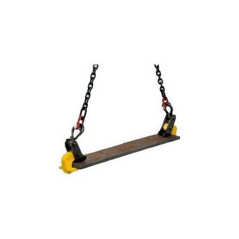Pince pour tôle horizontale - Capacité : 6 tonnes