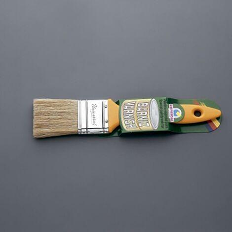 Pinceau à peinture spécial vernis Pinceau à peinture spécial vernis manche jaune 40 Mm-No. 18 universel