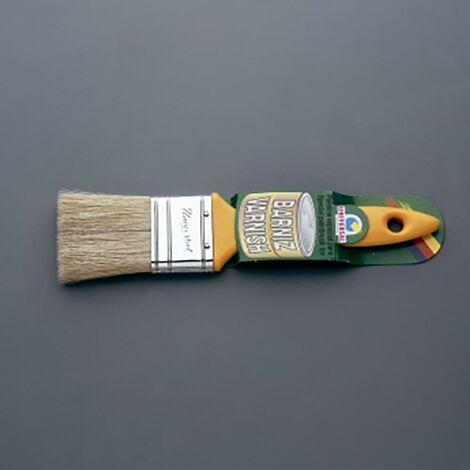 Pinceau à peinture spécial vernis Pinceau à peinture spécial vernis manche jaune 45 Mm-No. 21 universel