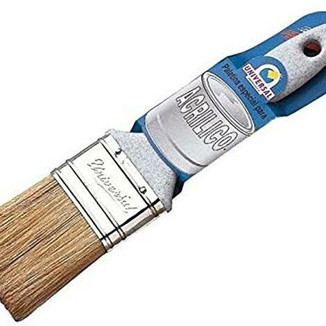 Pinceau sp�cial peinture acrylique manche blanc 70 Mm-No. 33 universel