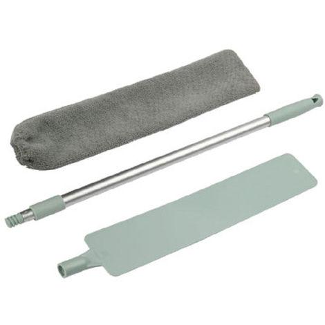 Pincel de limpieza de microfibra Gap limpieza del polvo Artefacto lavable de microfibra plumero con extension Polo largo mango de la fregona Bendable extensibles plumeros Gap, tipo 1
