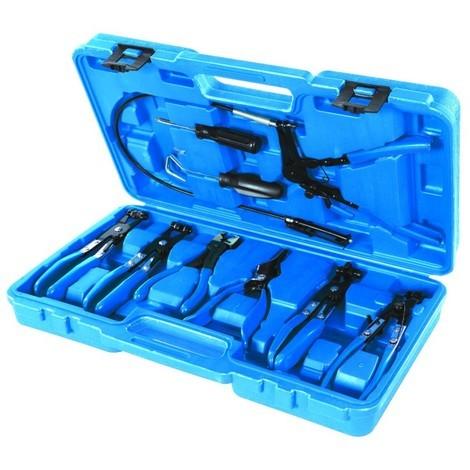 Pinces pour colliers de serrage, 9 pcs 18 - 54 mm