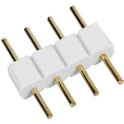Pincho conector tira led RGB