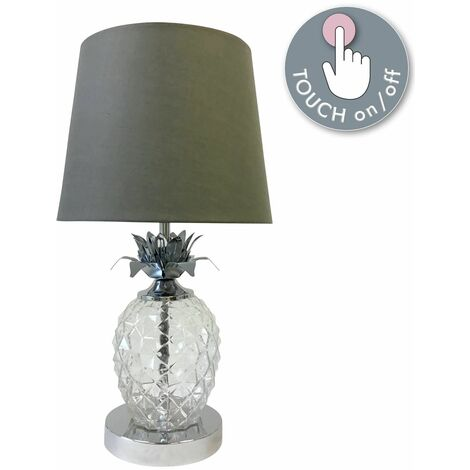 Pineapple Touch Control Table Lamp Modern Bedside Light Stylish Design