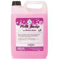 Pink Soap Aral Sapone Liquido Lavamani Neutro a Ph Isodermico Profumato Rosa Tanica 5 Kg