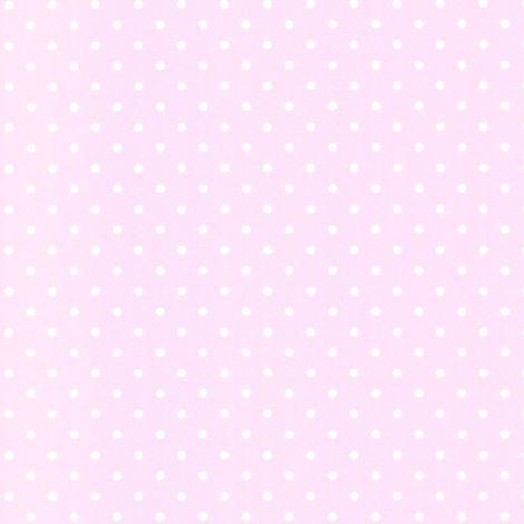 Pink White Polka Dots Wallpaper Spots Children Kids Girls Room Washable Debona