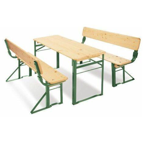 Pinolino - 201395 - Ameublement et Décoration - Set de Table et de Chaises pour les Fêtes - Sepp avec Dossier