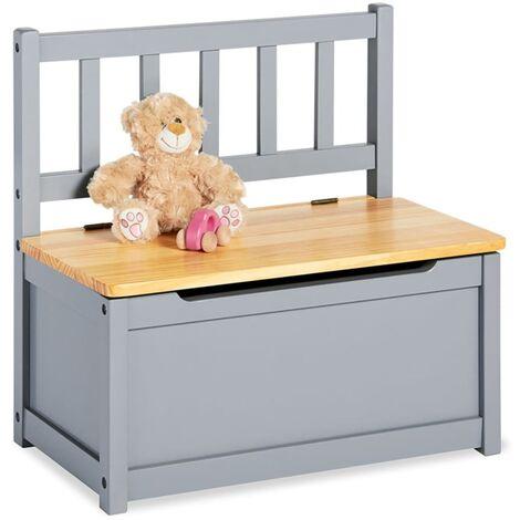 Pinolino Children's Storage Bench Fenna Grey