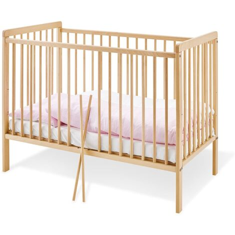 Pinolino Crib Hanna 120x60cm S Beech Wood Natural