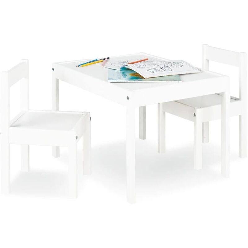 Pinolino Ensemble de table et chaises pour enfants Sina