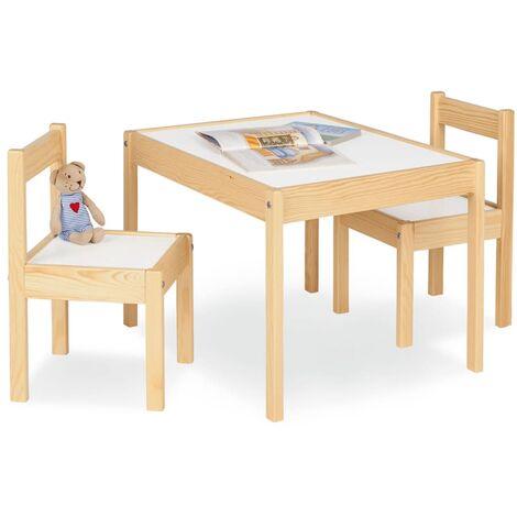 Pinolino Juego de mesa y sillas para niños Olaf - Beige