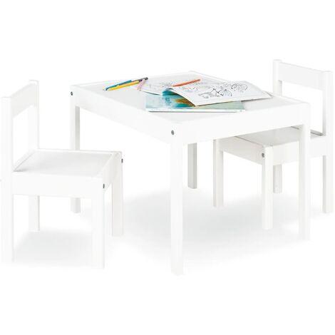 Pinolino Juego de mesa y sillas para niños Sina - Bianco
