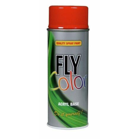 PINTURA ACRIL MATE 400 ML RAL 9005 NEGRO PROFUNDO FLY COLOR