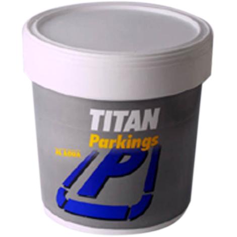 Pintura acrílica para parkings 4L Titan