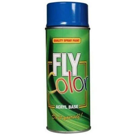 Pintura Acrilica Satinado 400 Ml 400 Ml Negro Profundo Fly Color