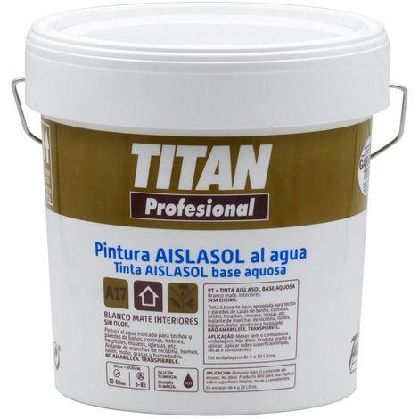 Pintura Aislante al agua Titan   4 L
