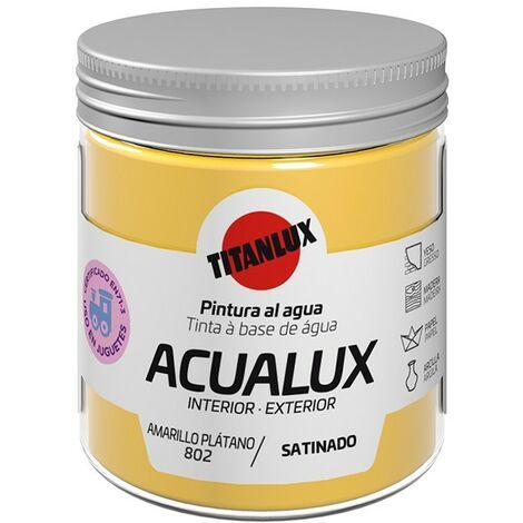 Pintura al agua Acualux Colores Amarillos Titanlux