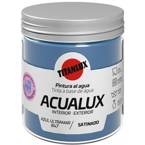 Pintura al agua Acualux Colores Azules Titanlux