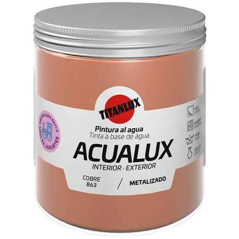 Pintura al agua Acualux Colores Metalizados Titanlux