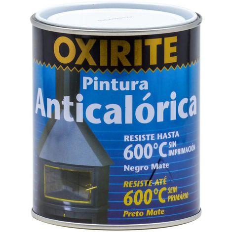 Pintura Anticalórica Negro Mate 600ºC Oxirite