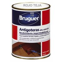 Pintura Antigoteras 4 Lt Teja Mate Alta Bruguer