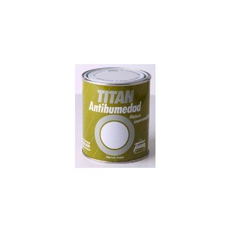 Pintura Antihumedad Al Disolvente Titan Blan 750ml 019000234