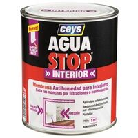 Pintura Antihumedad Int. 1 Kg Blanco Mate Aguastop Ceys