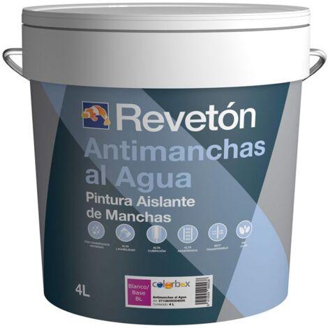 PINTURA ANTIMANCHAS AL AGUA REVETON 4 LT