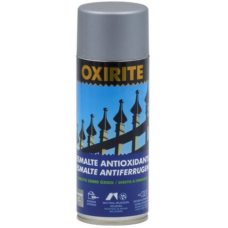 500abd4d09891 Pintura antioxidante forja pavonado spray Oxirite