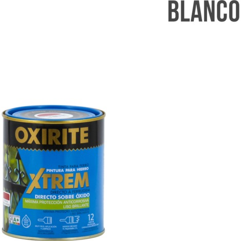 Pintura antioxidante Oxirite Xtrem Liso Brillante 750ml Xylazel