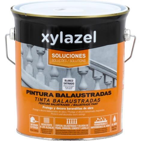 Pintura balaustradas blanco satinado Xylazel