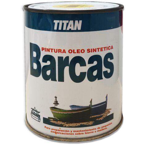 PINTURA BARCAS TITAN AMARILLO 531 750 ML