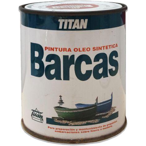 PINTURA BARCAS TITAN ROJO 565 750 ML