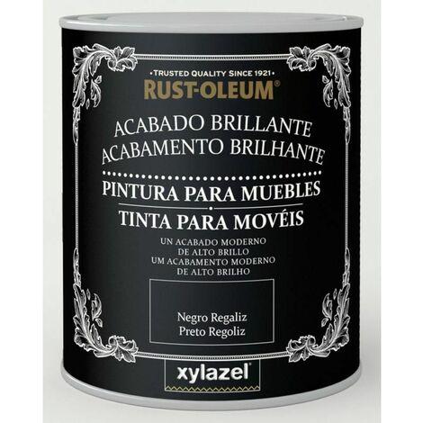 Pintura Brillante Muebles Xylazel Negro
