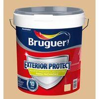 Pintura Bruguer exterior Revestimiento liso Protec 10 años Arena 15 Lt