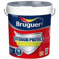 Pintura Bruguer exterior Revestimiento liso Protec 10 años Teja 15 Lt