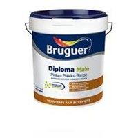 PINTURA BRUGUER PLASTICA EXTERIOR DIPLOMA BLANCO MATE 15L