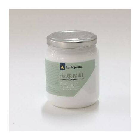 Pintura Chalk Paint blanco nube La Pajarita 500 ml